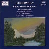 GODOWSKY: Piano music vol. 4