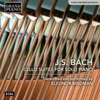 Bach: Cello Suites for Solo Piano