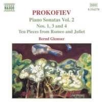 PROKOFIEV: Piano Sonatas Vol. 2, Nos. 1, 3 & 4