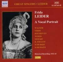 Frida Leider: A Vocal Portrait