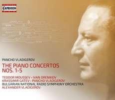 Vladigerov: The Piano Concertos Nos. 1 - 5