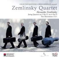 Zemlinsky: String Quartet 2, 4, Two Movements