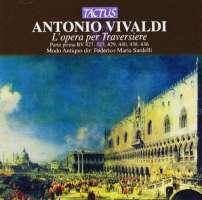 Vivaldi: L'opera per Traversiere Vol.1