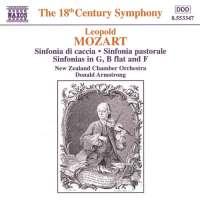 MOZART Leopold: Sinfonia di Caccia, Sinfonia Pastorale