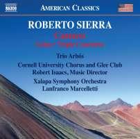 Sierra: Cantares; Triple Concierto; Loíza