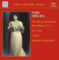 GREAT SINGERS - MELBA ( 1921-26)