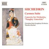 SHCHEDRIN: Carmen Suite, Concerto for Orchestra