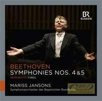 Beethoven: Symphonies Nos. 4 & 5; Šerkšnytė: Fires