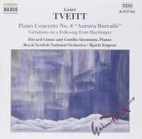 TVEITT: Piano Concerto No. 4; Variations on a Folk Song