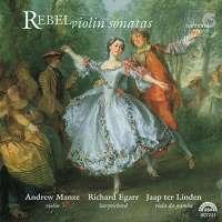Rebel: Sonates pour violon n° 1, 3-9