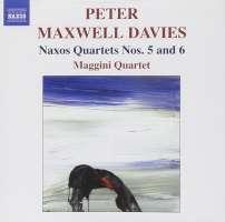 DAVIES: Naxos Quartets Nos. 5 and 6