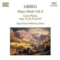 GRIEG: Piano Music vol. 8