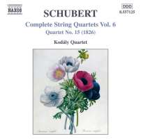 SCHUBERT: String quartets vol. 6