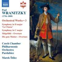 Wranitzky: Orchestral Works, Vol. 3