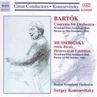 Bartok: Concerto for Orchestra / Mussorgsky: Pictures at an Exhibition