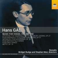 Gál: Music for Voices Vol. 1