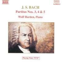 Bach: Partita no. 3, 4, 5