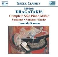 DRAGATAKIS: Piano Works (Complete)