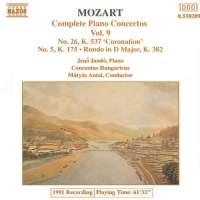 Mozart: Piano Concertos 5 & 26