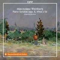 Weinberg: Piano Sonatas op. 8; 49bis & 56