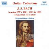 BACH: Sonatas for Guitar