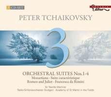 Tchaikovsky: Orchestral Suites 1-4, Romeo & Juliet Fantasy Overture