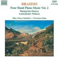BRAHMS: 4hand Piano Music vol. 2