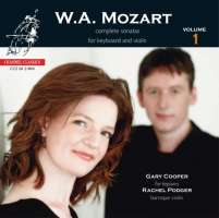 Mozart: Complete Sonatas For Keyboard And Violin, Vol. 1