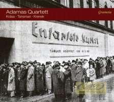 Krása, Tansman, Krenek, Ernst: String Quartets