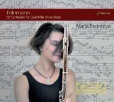 Telemann: Twelve Fantasias for Flute without Bass