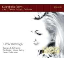 Sound of a Poem – Debussy, Marx ,Schoeck, Endstrasser