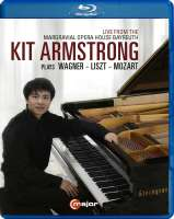 Kit Armstrong plays Wagner, Liszt and Mozart
