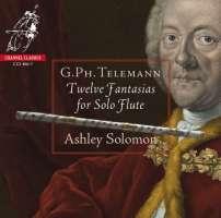 Telemann: 12 Fantasias for Solo Flute