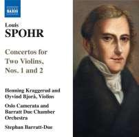 SPOHR: Concertos for 2 violins
