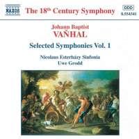 VANHAL: Symphonies Vol. 1