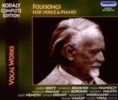 Kodaly: Folksongs