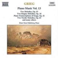 GRIEG: Piano Music vol.13
