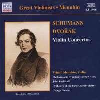 Dvorák / Schumann: Violin Concertos