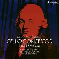 CPE Bach:  Cello Concertos & Symphony
