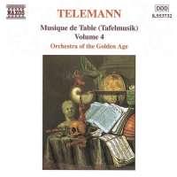 TELEMANN: Tafelmusik vol. 4