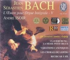 Bach: L'OEuvre pour Orgue Integrale - 5