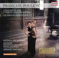 Françaix & Poulenc: Concertos for two pianos and orchestra