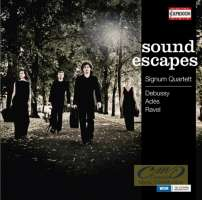 Sound escapes: Debussy, Ravel, Adès