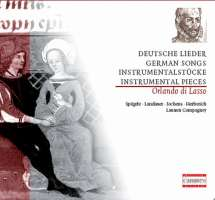 Lasso: German Songs and Instrumental Pieces