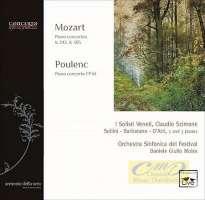 Mozart & Poulenc: Concertos for 2 & 3 pianos