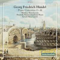 Handel: Piano Concertos Nos. 13 - 16, after the original for organ