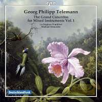 Telemann: The Grand Concertos for mixed instruments Vol. 1
