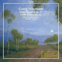 Schumann, G. (1866-1952): Piano Quartet; Cello Sonata