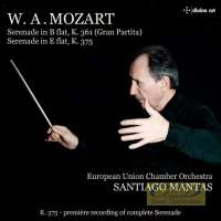 "Mozart: Serenades for Wind Instruments K. 361 ""Gran Partita"" & K. 375"