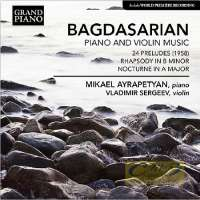 Bagdasarian: Piano & Violin Music